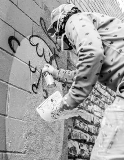 Gina Giore, grafitera / Carles Ramos