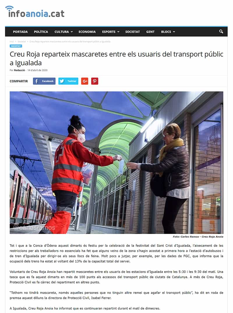 200414 - Infoanoia - Creu Roja reparteix mascaretes entre els usuaris del transport públic a Igualada - Infoanoia@0,5x